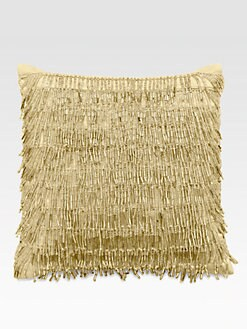 Donna Karan - Modern Classics Beaded Fringe Decorative Pillow