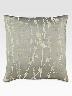 Donna Karan - Modern Classics Celadon Metallic Decorative Pillow