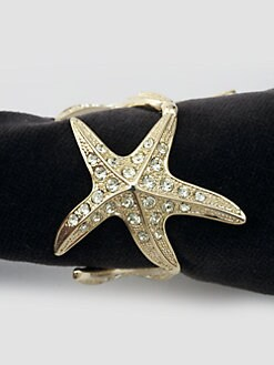 L'Objet - Set of 4 Starfish Napkin Rings