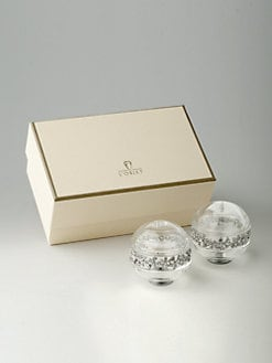 L'Objet - Garland-On-Crystal Shaker Set