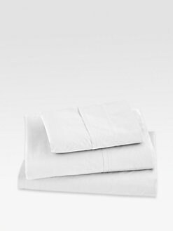 Donna Karan - Essential Lustre Seam Pillowcase/White