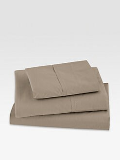 Donna Karan - Essentials Lustre Seam Flat Sheet/Vapour