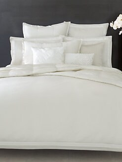 Donna Karan - Modern Classics Duvet Cover/White Gold