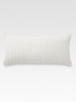 DKNY - Pure Innocence Decorative Pleated Pillow/Milk