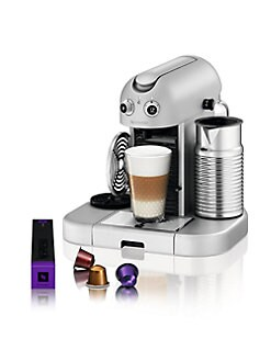 Nespresso - Gran Maestria  Espresso Maker with Aeroccino Automatic Milk Frother