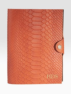 Graphic Image - Personalized Python-Embossed Journal