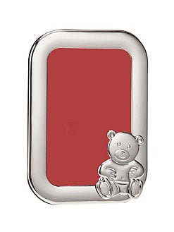 Cunill - Sterling Silver 4 X 6 Teddy Bear Frame