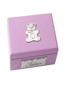 Cunill - Personalized Baby Bear Pink Box