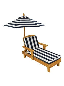 KidKraft - Outdoor Chaise & Umbrella