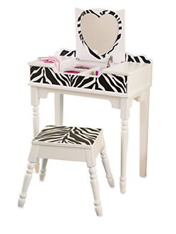 KidKraft - Fun & Funky Vanity & Stool