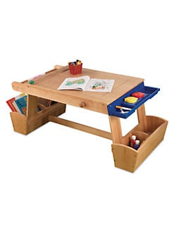 KidKraft - Art Table, Drying Rack & Storage