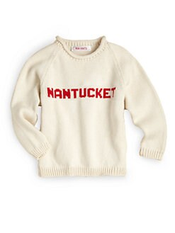 MJK Knits - Infant's & Kid's Personalized Name Sweater