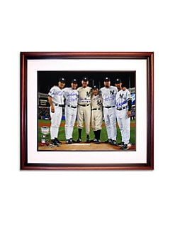 Steiner Sports - Yankees Final Game At Yankee Stadium Framed Photo
