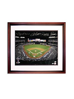 Steiner Sports - Core Of Four Signed Stadium View Framed Photo