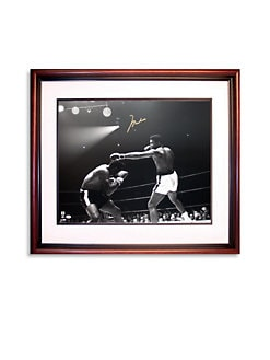 Steiner Sports - Muhammad Ali vs. Patterson Framed Autographed Photo