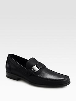Salvatore Ferragamo - Bravo Side Vara Moccasins