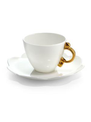 Geometrica Tea Cup & Saucer