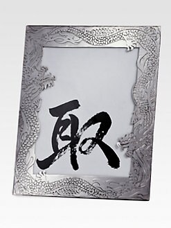 Natori - Etched Dragon Picture Frame