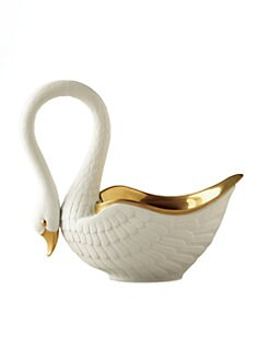 L'Objet - White Porcelain Swan
