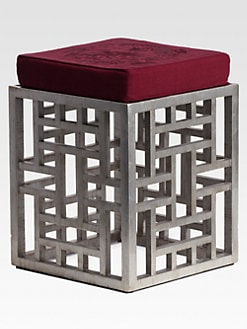 Natori - Lacquer Fretwork Stool