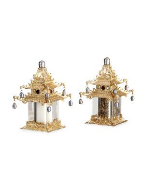 Two-Piece Pagoda Shaker Set