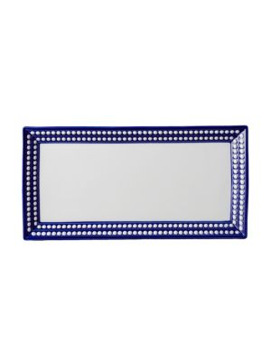 Perlee Bleu Rectangular Tray