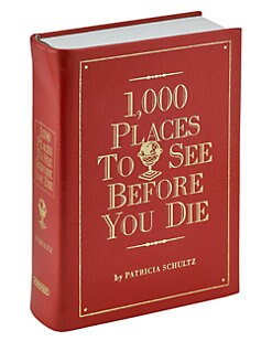 Graphic Image - 1,000 Places to Go Book
