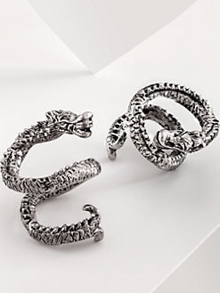 Natori - Coiled Dragon Napkin Rings
