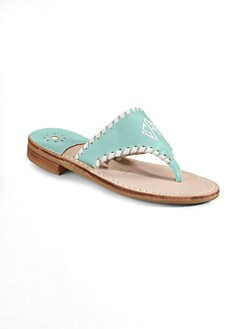 Jack Rogers - Personalized Girl's Leather Resort Sandals