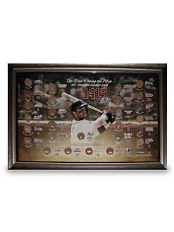 Steiner Sports - Framed David Wright Collage