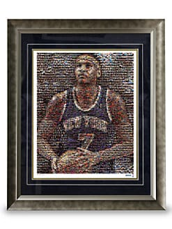 Steiner Sports - Framed Carmelo Anthony Mosaic