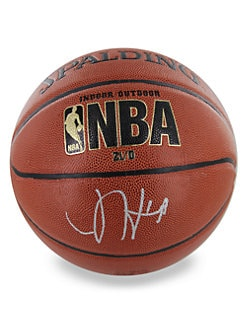 Steiner Sports - James Harden Signed NBA Basketball with Glass Display Case