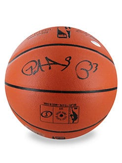 Steiner Sports - Patrick Ewing Signed NBA Basketball & Glass Display Case