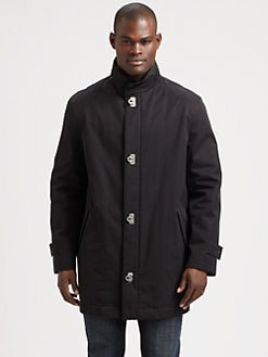 Salvatore Ferragamo - Wool Car Coat