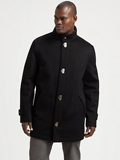 Salvatore Ferragamo - Cashmere Car Coat