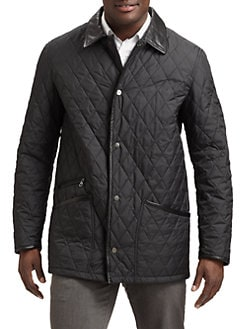 Salvatore Ferragamo - Quilted Tech Coat