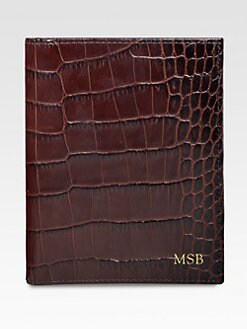 Graphic Image - Personalized Croc Passport Wallet