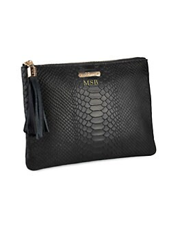 GiGi New York - Personalized Python-Embossed All-In-One Case