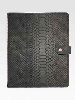 GiGi New York - Python Embossed iPad Case