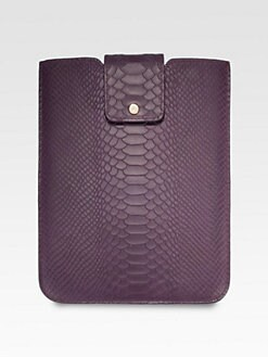 GiGi New York - Python Embossed iPad Sleeve
