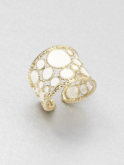 Roberto Coin - Enamel & 18K Gold Ring