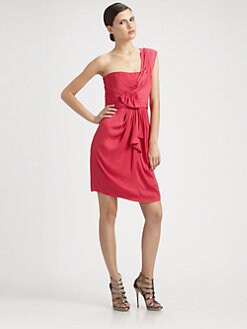 BCBGMAXAZRIA - Asymmetrical Dress