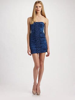 BCBGMAXAZRIA - Strapless Mini Dress