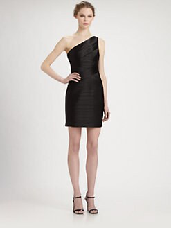 BCBGMAXAZRIA - Asymmetrical Mamie Dress