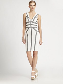 BCBGMAXAZRIA - Hanne Blocked Dress