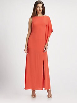 BCBGMAXAZRIA - Janus Draped Gown