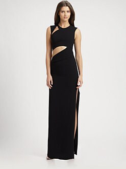 BCBGMAXAZRIA - Kimora Cutout Gown