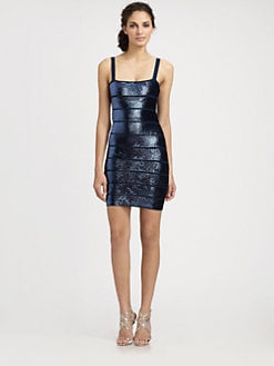 BCBGMAXAZRIA - Sequined Nadine Dress