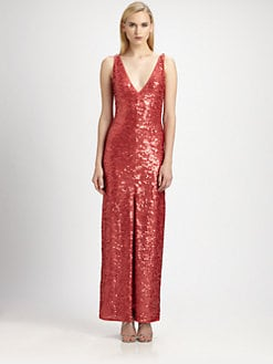 BCBGMAXAZRIA - Sumner Sequined Gown