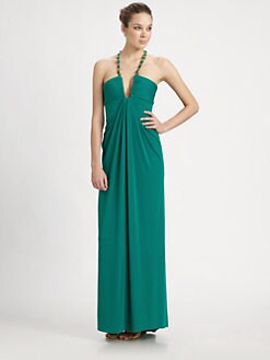 BCBGMAXAZRIA - Sophira Necklace Gown